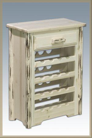 Cascade Wine Cabinet (Clear)