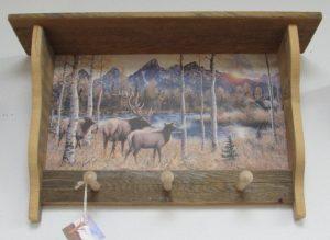 Rustic 3 peg Old Elk