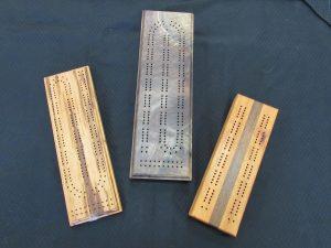 Wooden Cribbage Boards c
