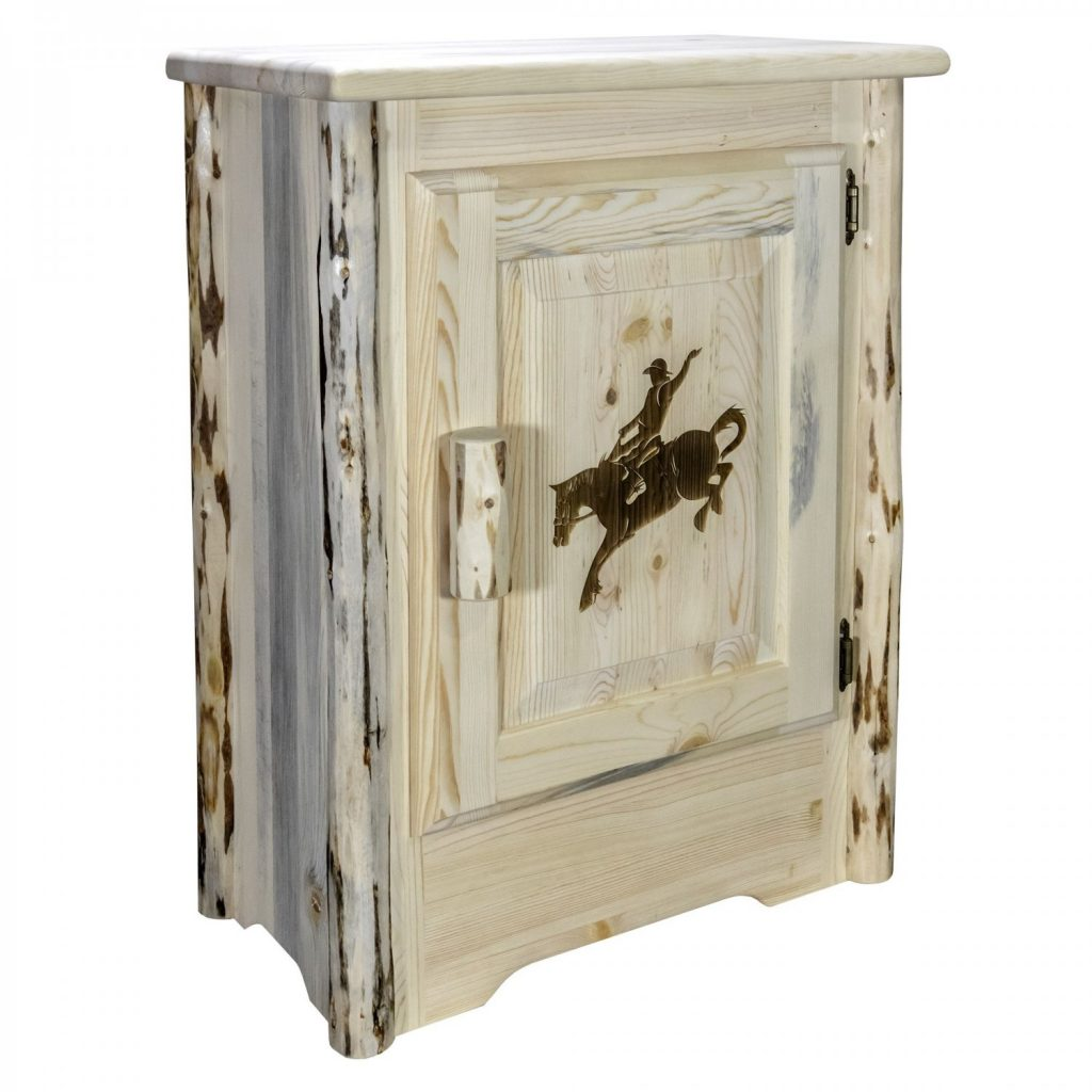 Cascade Accent Cabinet Bronc Laser (Clear)