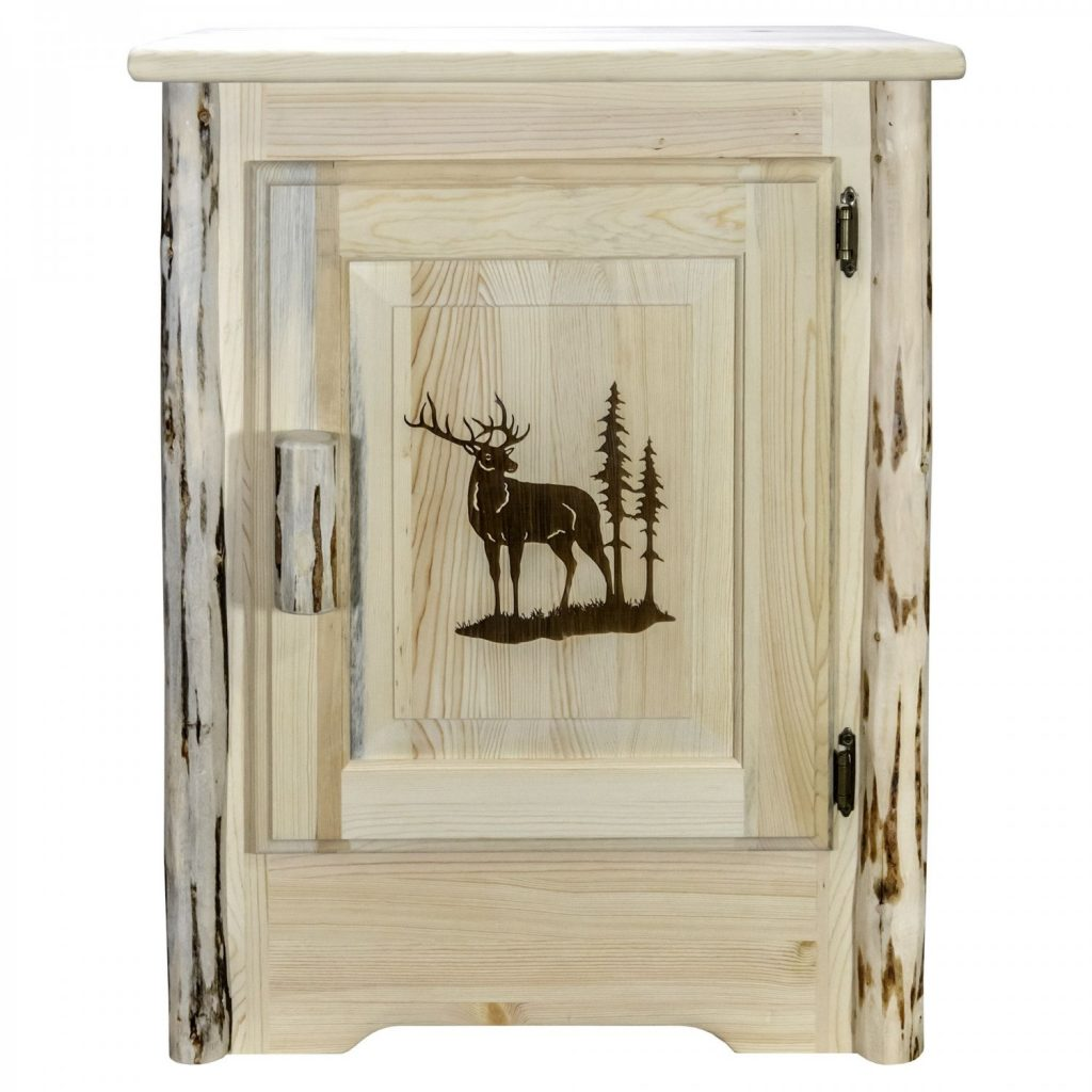 Cascade Accent Cabinet Elk Laser (Clear)