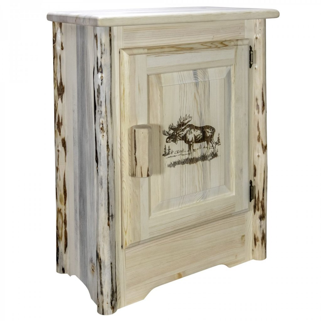 Cascade Accent Cabinet Moose Laser (Clear)