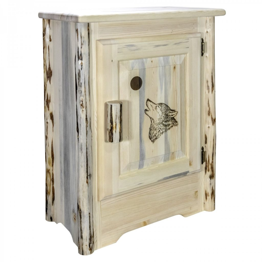 Cascade Accent Cabinet Wolf Laser (Clear)
