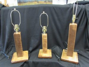 Homestead Table Lamps (Stained)