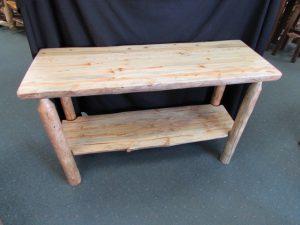 Rustic Sofa Table a