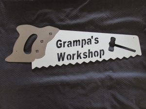 Grampa's Workshop Sign 261