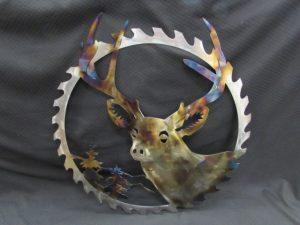 Deer head in Sawblade 269
