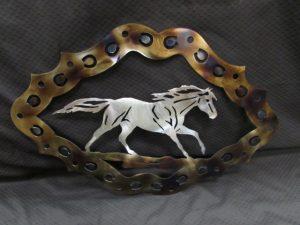 Running Horseshoe Frame 289
