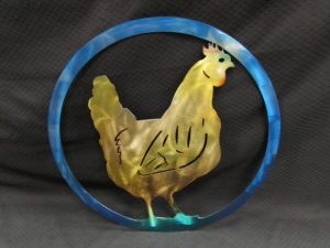 Hen in Circle 290