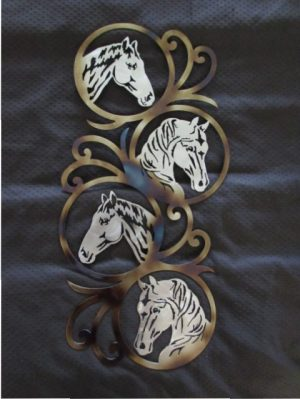 Four Horse Heads 299