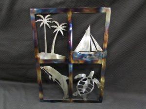 Tropical Island Window 308