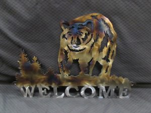 Welcome Bear Front Facing 318