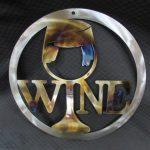Round Wine Glass 333