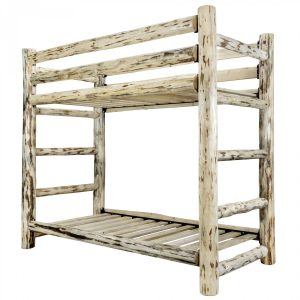 CC Twin-Twin Bunk Bed (Clear)