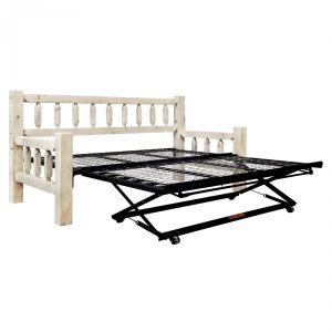 HC Day Bed w Trundle (Clear)