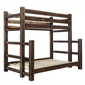 HC Twin-Full Bunk Bed (Stained)