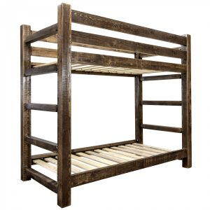 HC Twin-Twin Bunk Bed (Stained)