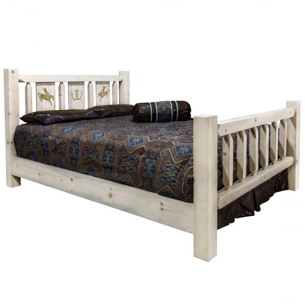 Homestead Bed Bronc Laser (Clear)