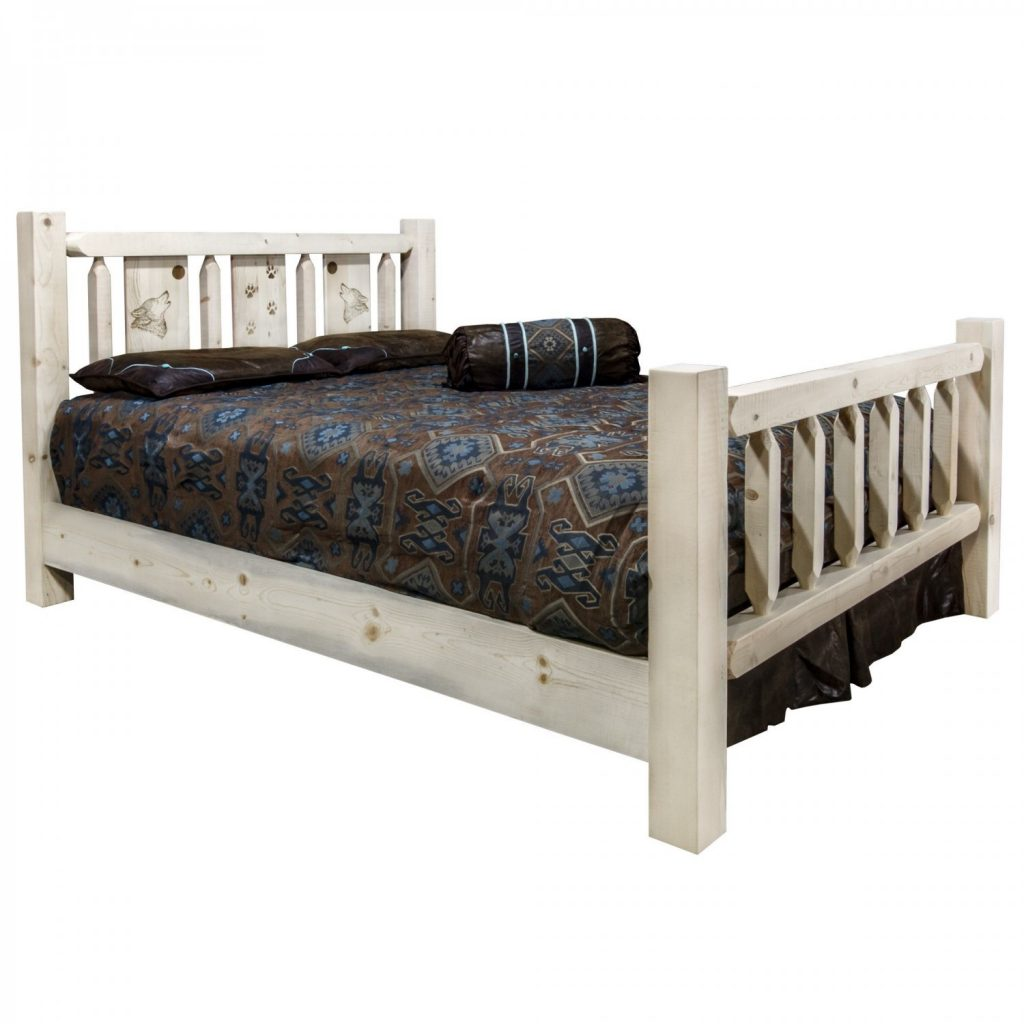Homestead Bed Wolf Laser (Clear)
